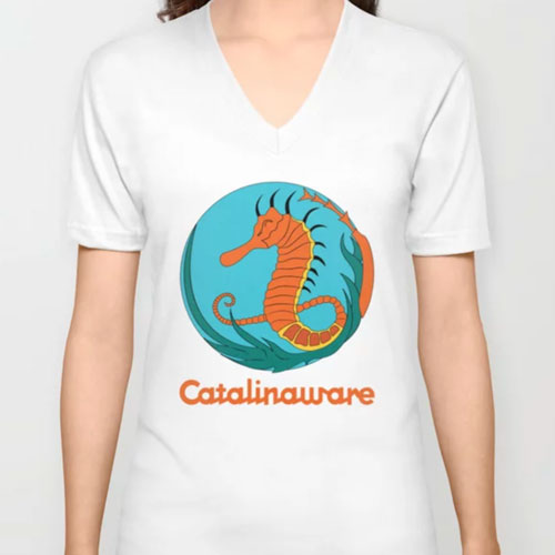 Catalinaware Seahorse T-Shirt
