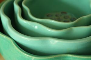 Garden City Ruffle Bowls