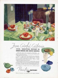 Pacific Pottery Advertising - 1936