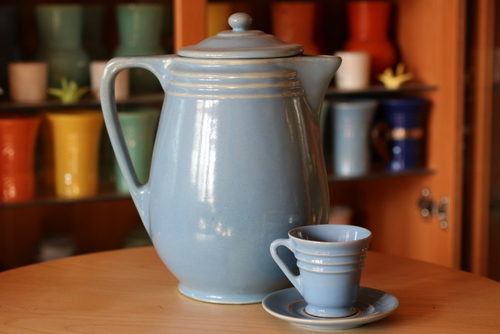 Pacific Pottery Tea and Coffeepots