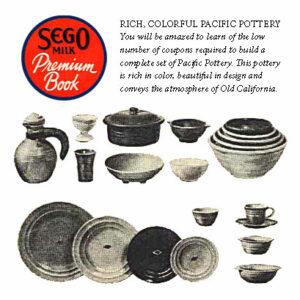 Pacific Pottery Sego Premium - 1930s