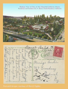 Postcard from Mrs. Emma Bauer to her friend Lizzie Austin