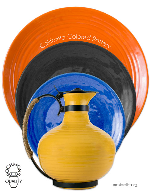 "Bauer ""California Colored Pottery"""