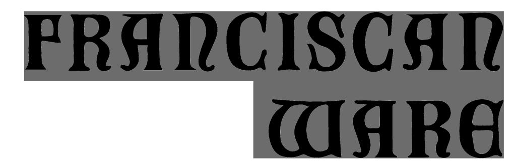 Franciscan Ware Logo