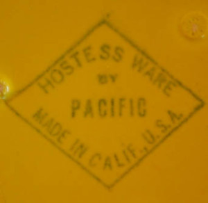 Pacific Pottery Backstamp 01