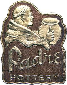 Padre Pottery Foil Label