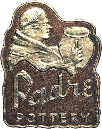 Padre Pottery Foil Label