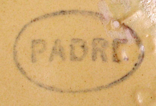 Padre Pottery Backstamp