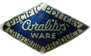 Pacific Pottery Coralitos Label