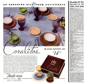 Pacific Pottery Coralitos - Life Magazine December 1938