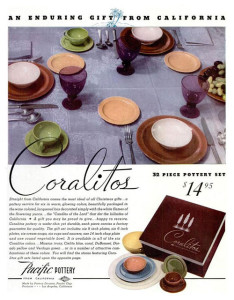 Pacific Pottery Coralitos - Life Magazine 1938