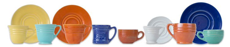 Pacific Pottery Hostessware Cups and Mugs