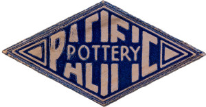 Pacific Pottery Foil Logo
