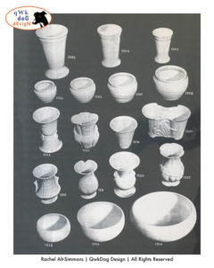 Pacific Pottery Artware Catalog
