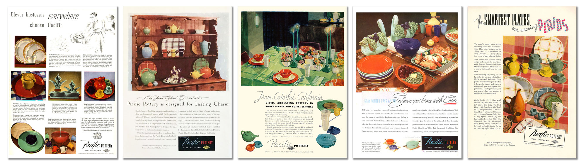 Pacific Pottery Magazine Advertising