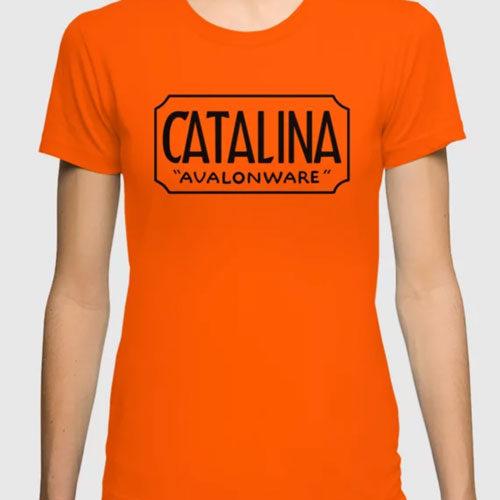 Catalina Island Avalonware Logo Tee