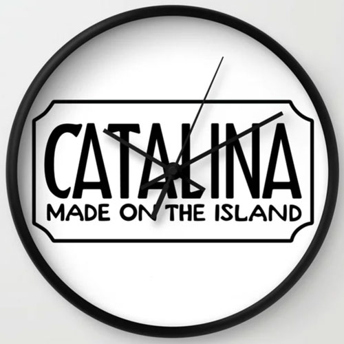 Catalina Island MOTI Clock