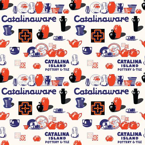 Catalina Island Tile Pattern