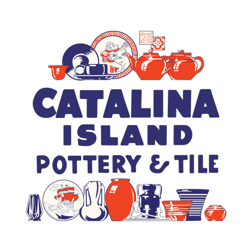 QwkDog Catalina Island Pottery Tile Design