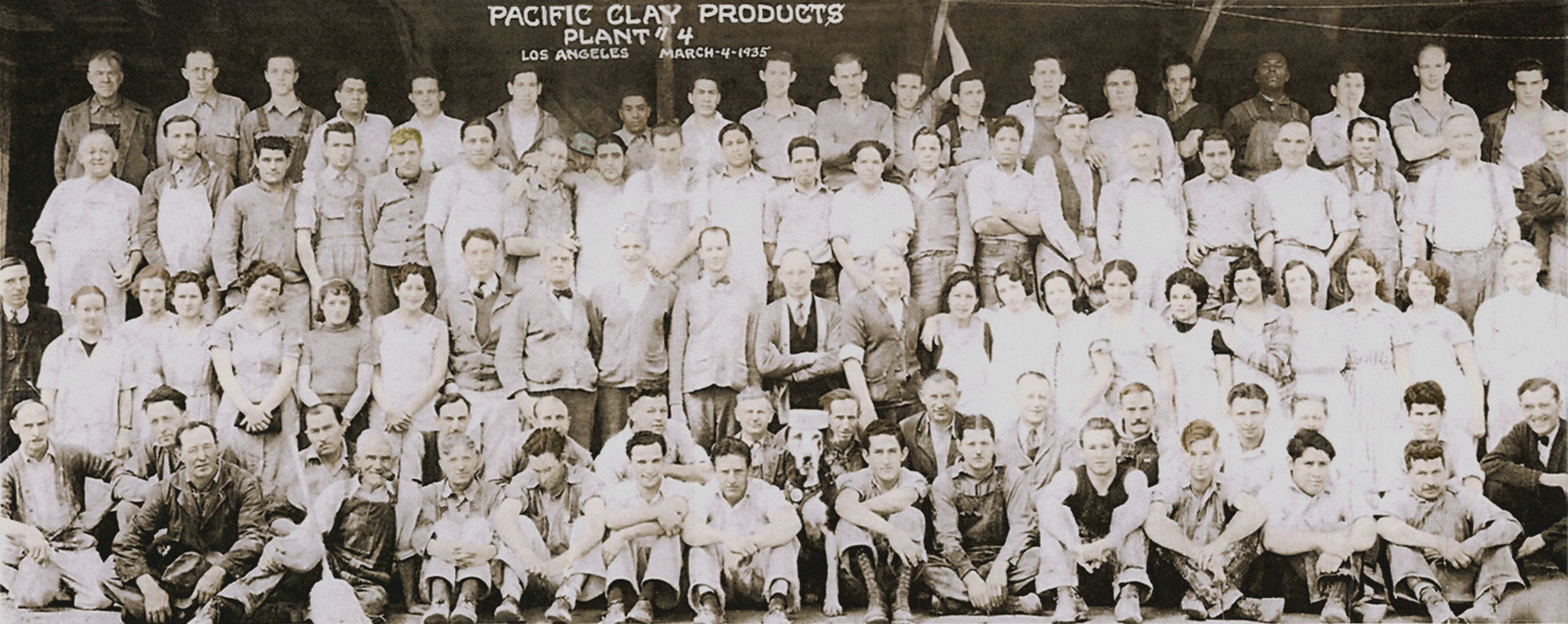 Pacific Clay Products 1935