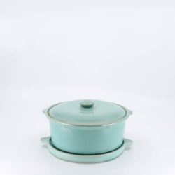 Pacific Hostessware 200-201 Casserole Trivet Green