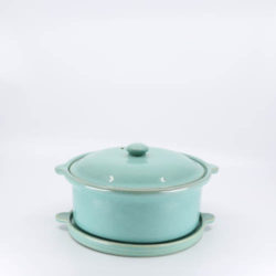 Pacific Hostessware 202-203 Casserole Trivet Green