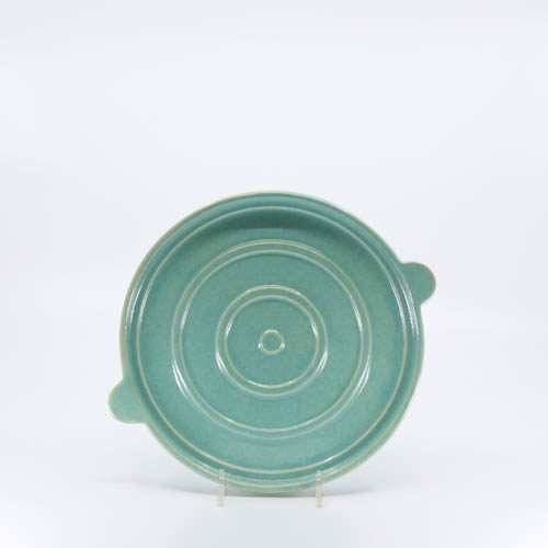 Pacific Pottery Hostessware 203 Trivet Green