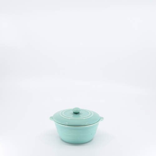 Pacific Pottery Hostessware 205c Ramekin Lid Green