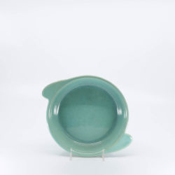 Pacific Hostessware 215 Shirred Egg Dish Green