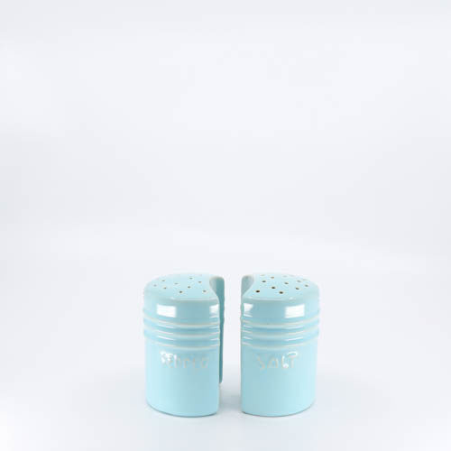 Pacific Pottery Hostessware 232-234 Salt Pepper Aqua