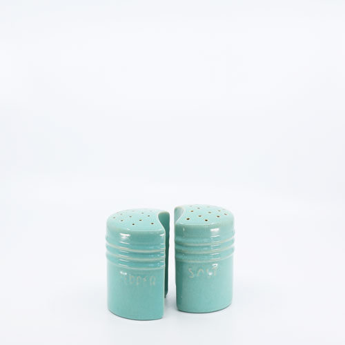 Pacific Pottery Hostessware 232-234 Salt Pepper Green