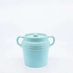 Pacific Hostessware 235 Beanpot Aqua