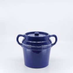 Pacific Hostessware 235 Beanpot Pacific Blue Decorated (2007)
