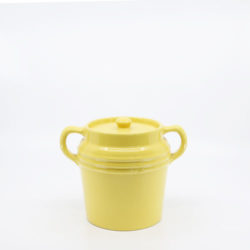 Pacific Hostessware 235 Beanpot Yellow