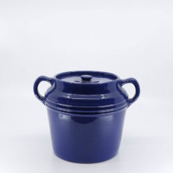 Pacific Hostessware 236 Beanpot Pacific Blue