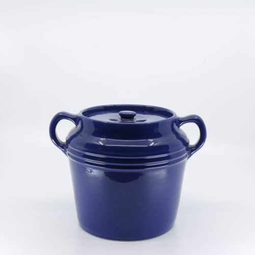Pacific Pottery Hostessware 236 Beanpot Pacblue