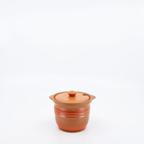 Pacific Pottery Hostessware 306 Condiment Jar Red