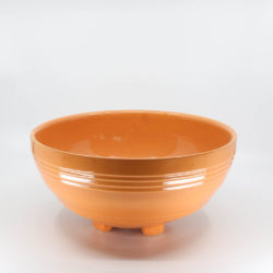 Pacific Hostessware 311 Salad Bowl Apricot