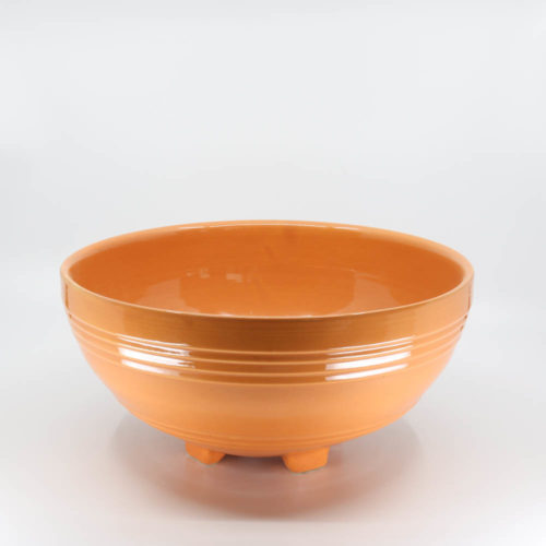 Pacific Pottery Hostessware 311 Salad Bowl Apricot