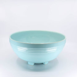 Pacific Hostessware 311 Salad Bowl Aqua