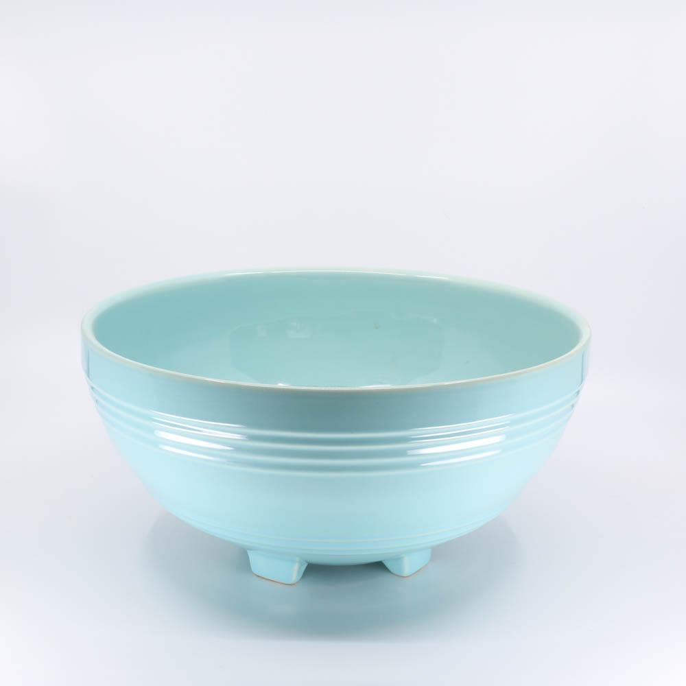 Pacific Pottery Hostessware 311 Salad Bowl Aqua