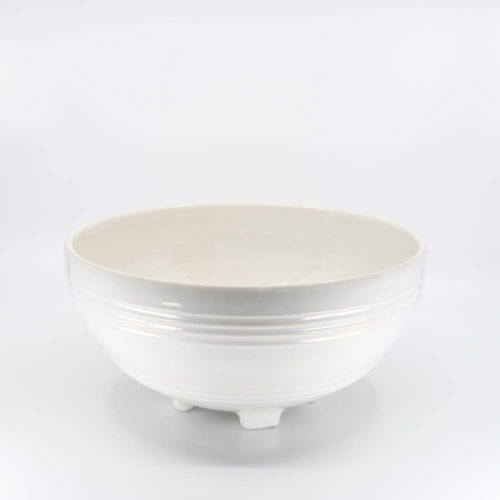 Pacific Pottery Hostessware 311 Salad Bowl White