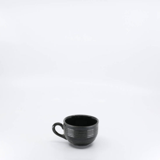 Pacific Pottery Hostessware 313 Punch Cup Black (early)