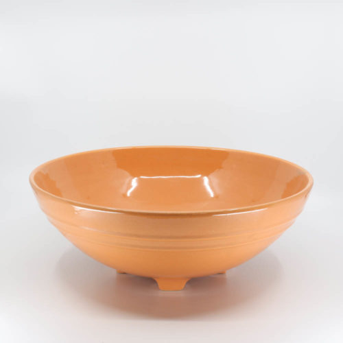 Pacific Pottery Hostessware 314 Serving Bowl Apricot (later)