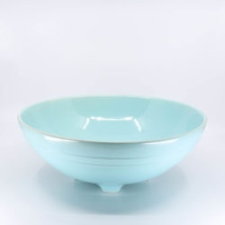 Pacific Hostessware 314 Serving Bowl Aqua