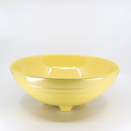 Pacific Pottery Hostessware 314 Serving Bowl Yellow