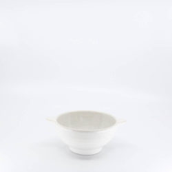 Pacific Hostessware 36A Lug Soup Bowl White