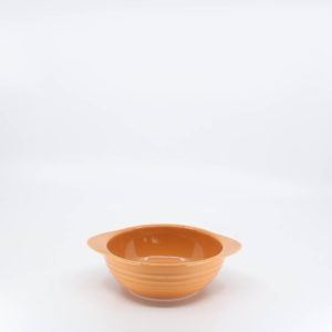 Pacific Pottery Hostessware 37 Onion Soup Bowl Apricot (later)