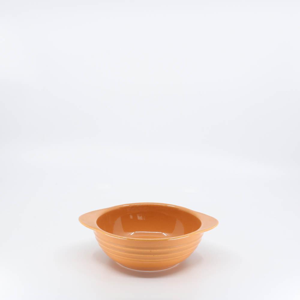 Pacific Pottery Hostessware 37 Onion Soup Bowl Apricot (later)