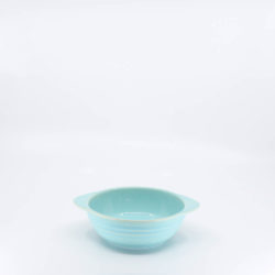 Pacific Hostessware 37 Onion Soup Bowl Aqua
